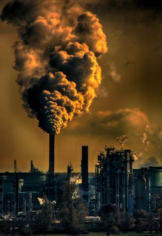 Fossil Fuel Smokestack