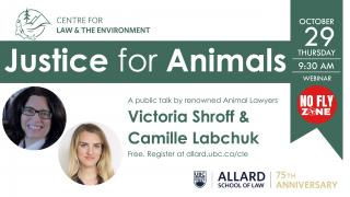 Small Poster for Justice for Animals Event